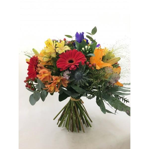 Ramo flor variada colores vivos RFVCV