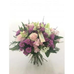 Ramo orquideas y rosas RORROS18