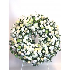 Corona fúnebre del/la florista