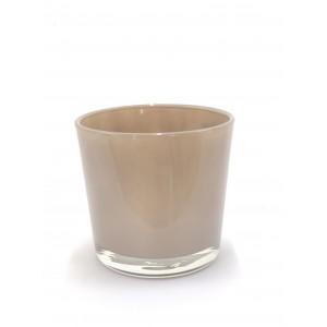 Macetero de cristal Ámbar c11