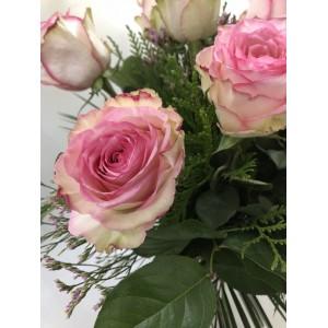 Rosas rosa de 70 cm