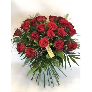 Rosas rojas de 70 cm desde